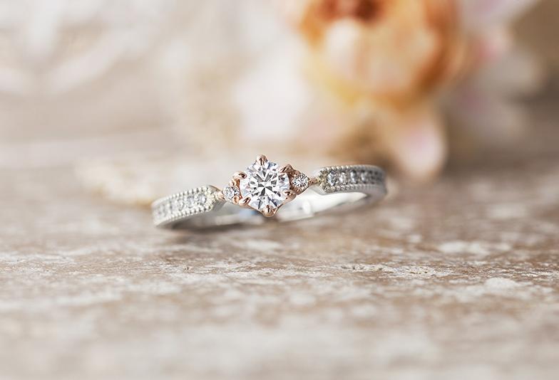 プリマポルタのゴージャスな婚約指輪