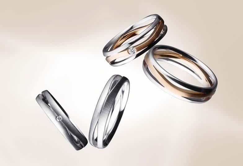 結婚指輪浜松市鍛造リング
