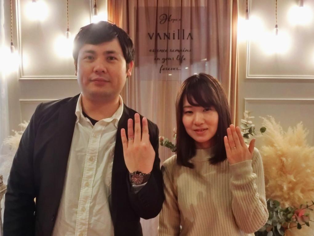 島根県浜田市 Disney STEAMBOAT WILLIE ( ディズニー スチームボート ウィリー ) の結婚指輪 をご成約のお客様