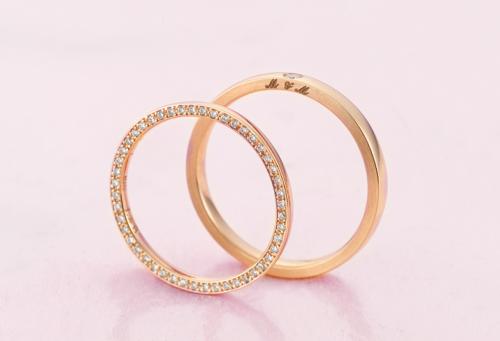 結婚指輪 ピンクゴールド