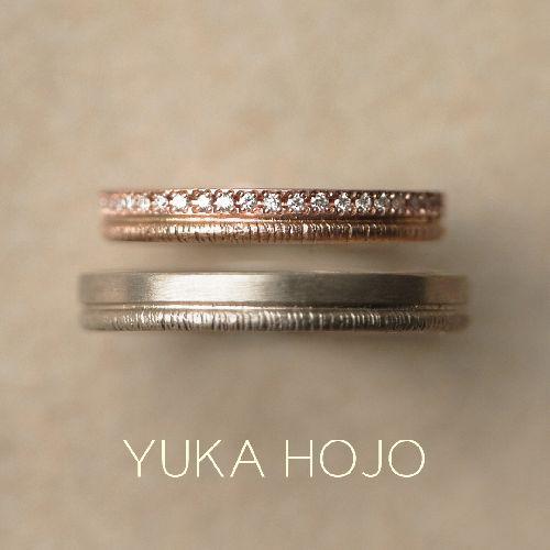 YUKAHOJOの結婚指輪でpath
