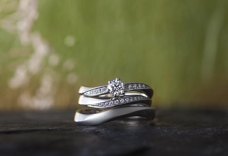 婚約指輪結婚指輪浜松市和風