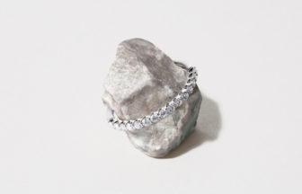 プラチナの婚約指輪と結婚指輪とエタニティリング