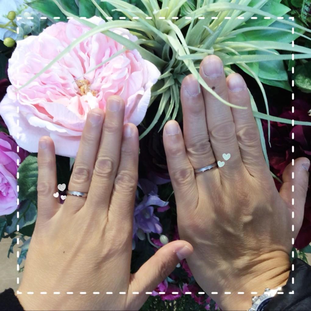 福島県いわき市  Tomo me結婚指輪ご成約のお客様