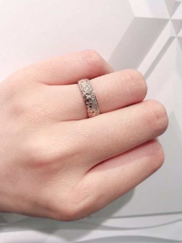 兵庫県明石市|MAILE【マイレ】の婚約指輪をご成約頂きました