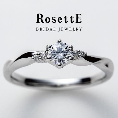 和歌山のシンプルな婚約指輪