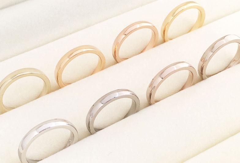 浜松市結婚指輪素材
