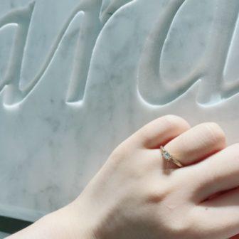 兵庫県神戸市垂水区 オレッキオジューラの婚約指輪をご成約いただきました