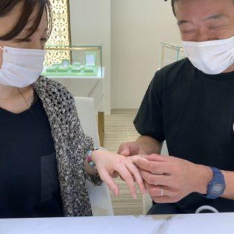 兵庫県宍粟市 et.lu(エトル)の結婚指輪