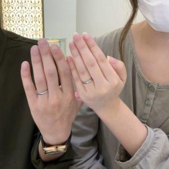 兵庫県加古川市 フィッシャーの結婚指輪
