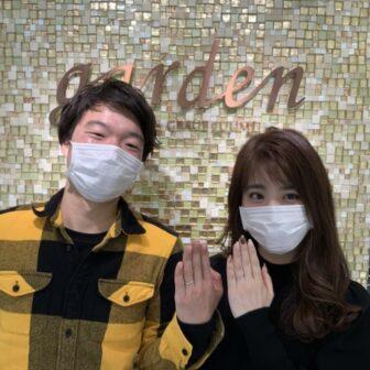 兵庫県・篠山市 CANDLE(キャンドル)の結婚指輪