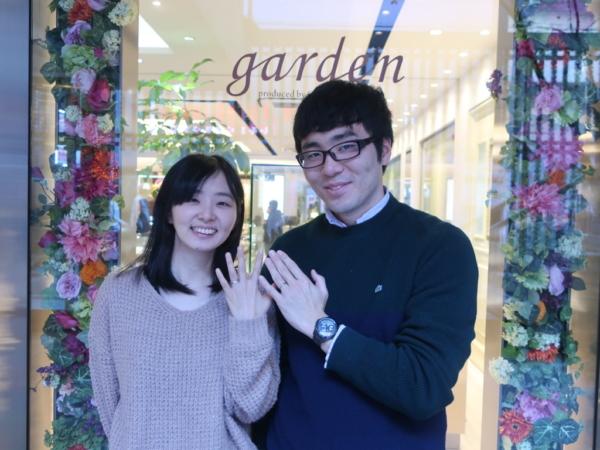 大阪・梅田 FISCHERの結婚指輪をご成約のお客様