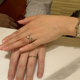 兵庫県神戸市灘区 フィッシャーの結婚指輪
