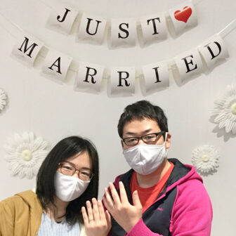 福島県いわき市 プチマリエ結婚指輪ご成約のお客様