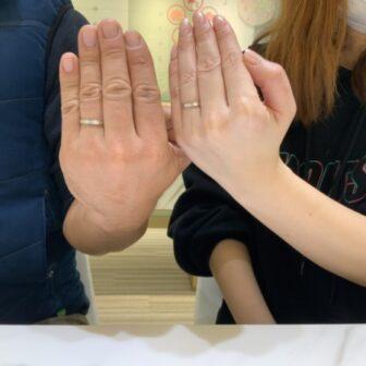 兵庫県・神戸市西区|パイロットブライダルの結婚指輪