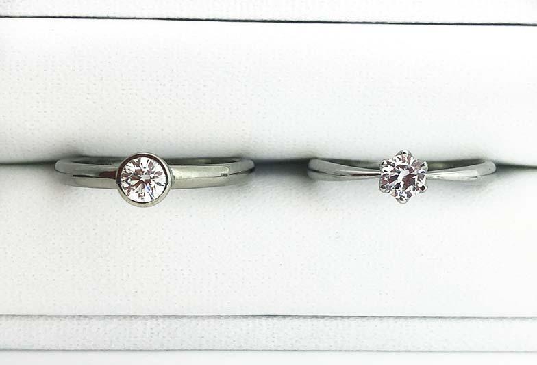 浜松婚約指輪シンプル