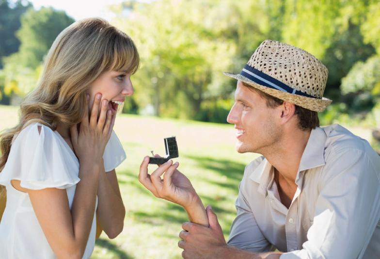 プロポーズの必需品婚約指輪
