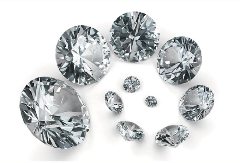 世の中で最も硬い鉱物ダイヤモンド