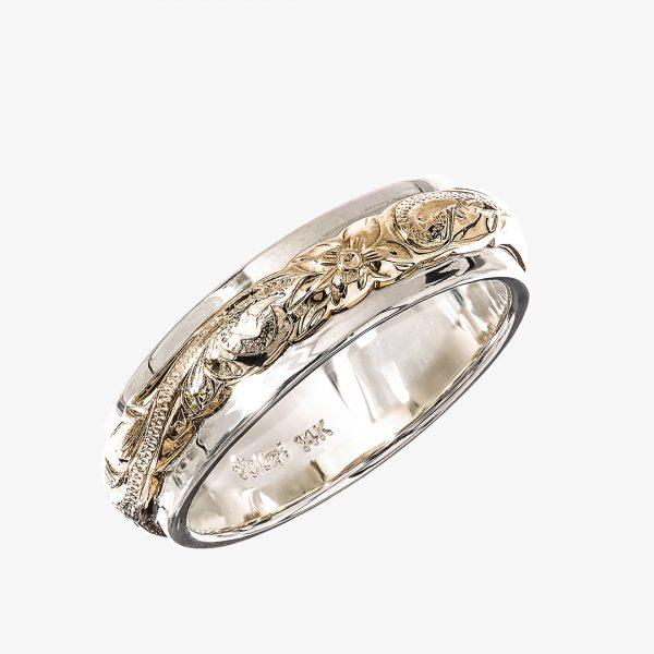 Maxiの結婚指輪でTWO-TONE