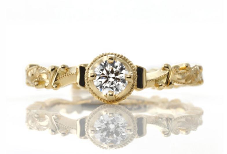 アンティークの婚約指輪