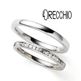 ORECCHIOオレッキオ結婚指輪南大阪