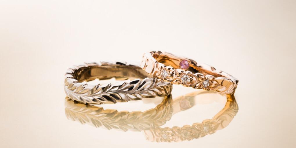 MAILEの結婚指輪でCurve Ring