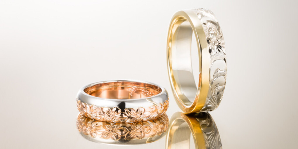 MAILEのTwocolor Ring