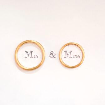 婚約指輪・結婚指輪アンティーク調