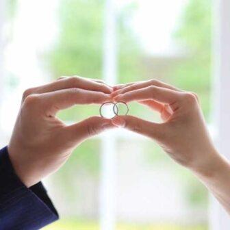 大阪の結婚指輪内石