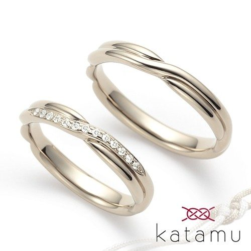 Katamuの結婚指輪で縁