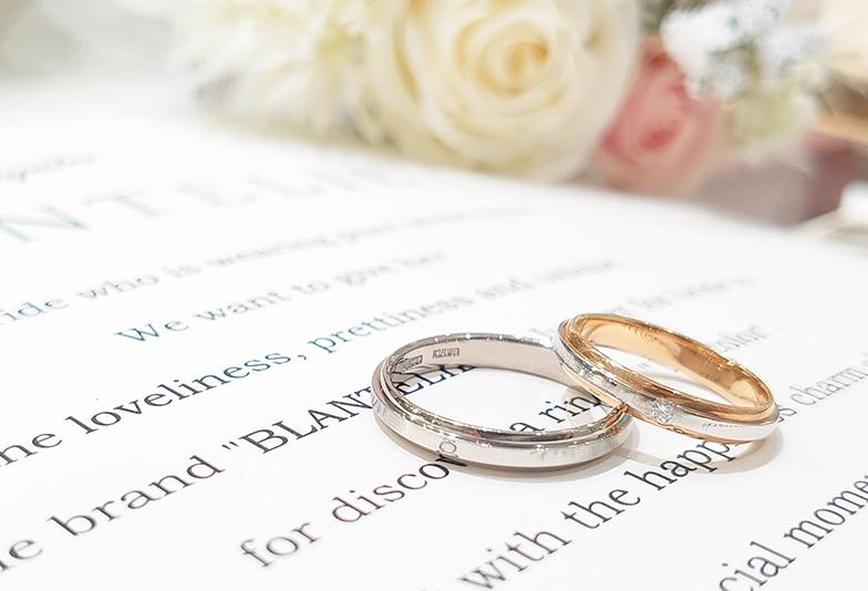 結婚指輪 文字