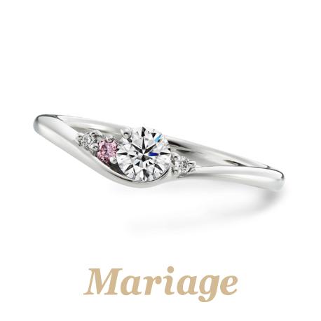 マリアージュエントの婚約指輪のシェリール