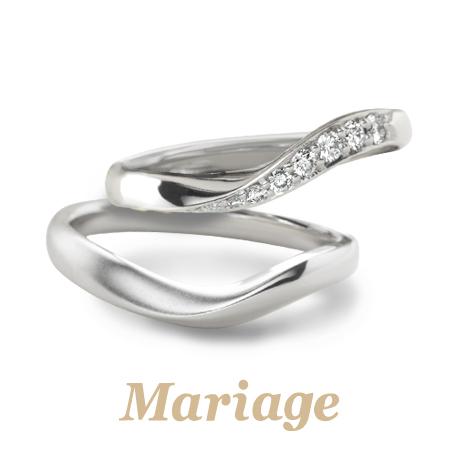 マリアージュエントの結婚指輪のシェリール