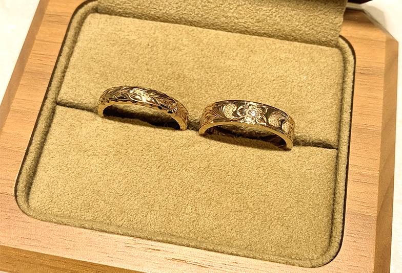 静岡結婚指輪ハワイアン