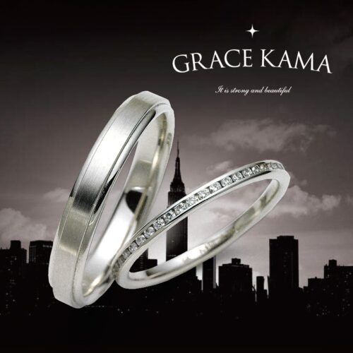 グレースカーマの結婚指輪でアーバインロサンゼルス