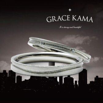 グレースカーマの結婚指輪でハンティントンビーチ