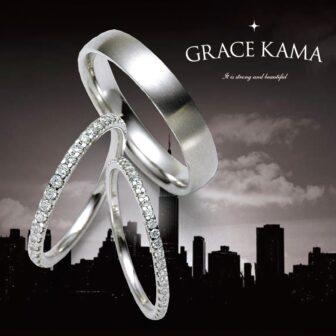 グレースカーマの結婚指輪でハリウッドロサンゼルス