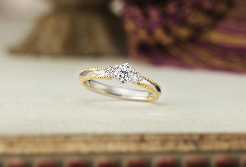 静岡市婚約指輪 アンティーク