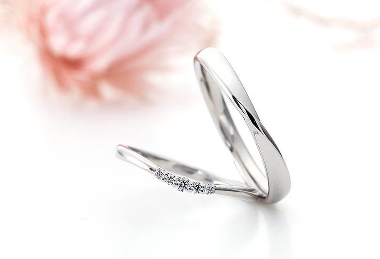 モナムールの結婚指輪。