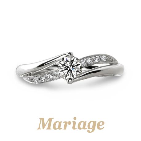 Mariageの婚約指輪