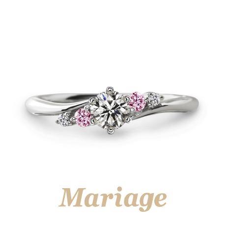 マリアージュエントの婚約指輪でプレディスィ