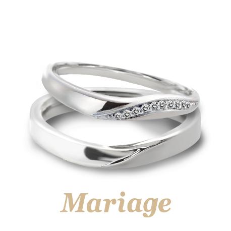 マリアージュエントの結婚指輪でプレディスィ