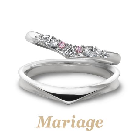 マリアージュエントの結婚指輪でロンボヌール