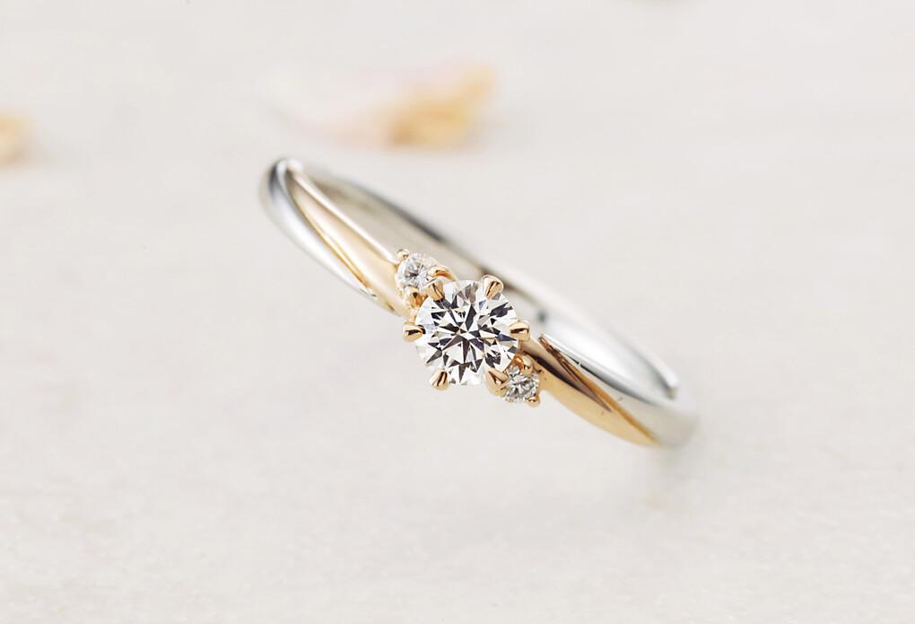 婚約指輪 コンビネーション