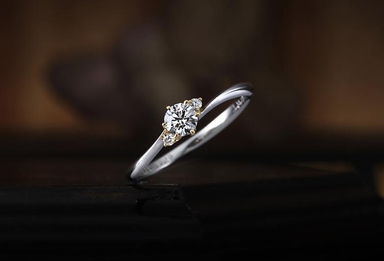 静岡市婚約指輪 シンプル
