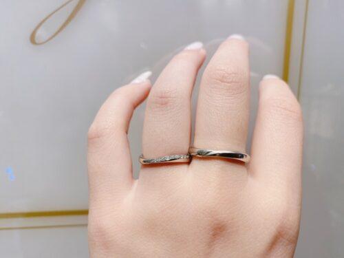 ピンクダイヤモンド京都結婚指輪