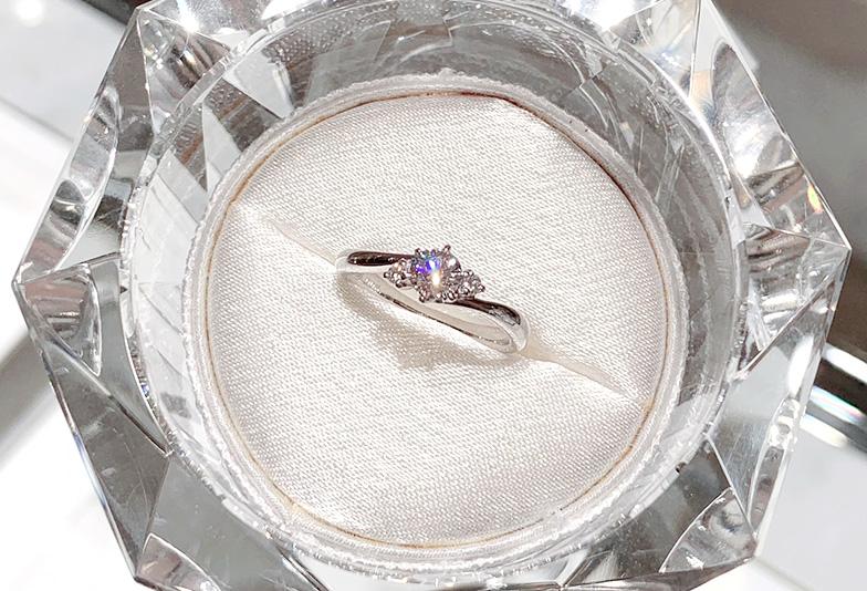 サプライズプロポーズ 婚約指輪選び