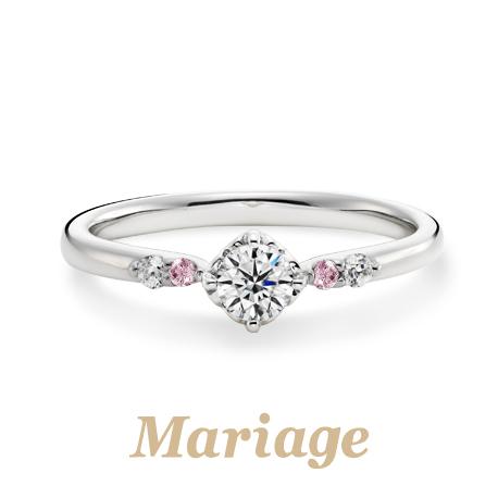 マリアージュエントの婚約指輪でロンボヌール