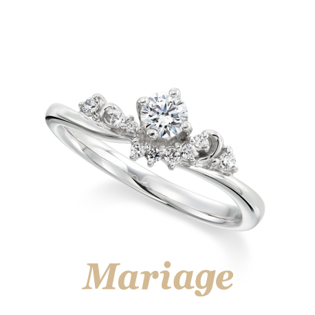 マリアージュエントの婚約指輪でビーナス