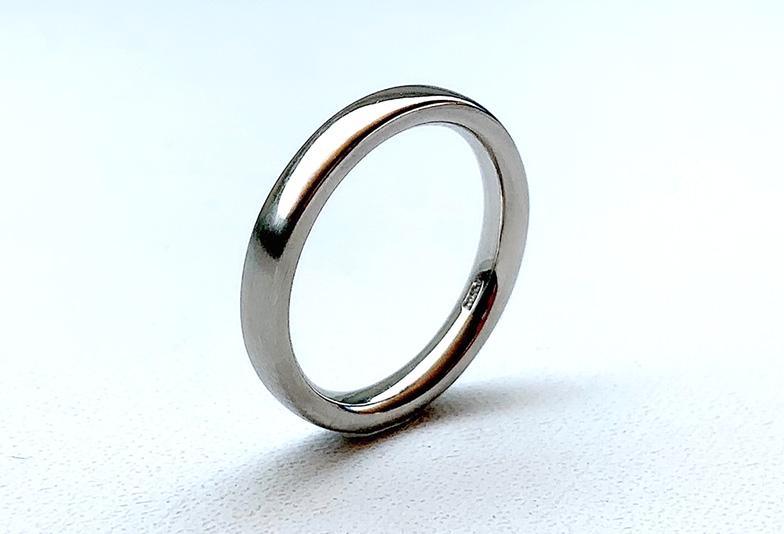 静岡市結婚指輪プラチナ